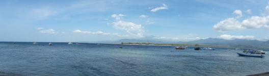The sea at Gili Air
