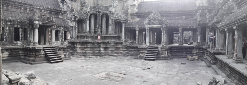 Courtyard at the Bakan