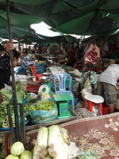 Hustle -Bustle in the market!