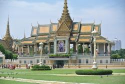 Royal Palace at Phnom Penh