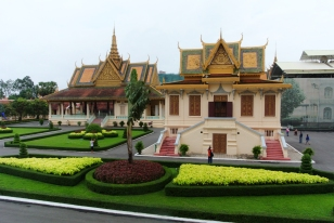 The palace grounds