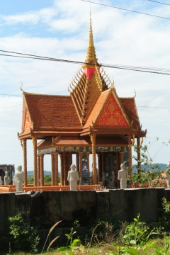 One of the many temples we saw on the way