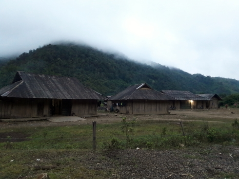 The Hmong family house where we stayed for a night