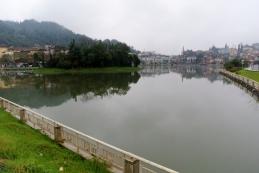 The lake in Sapa