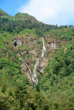 Waterfalls in the Annamite mountains