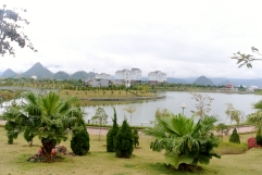 Lai Chau city- Vietnamese cities are full of lakes!